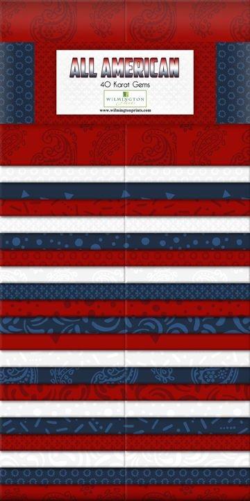 Wilmington - Essential Gems 2 1/2 strips - All American
