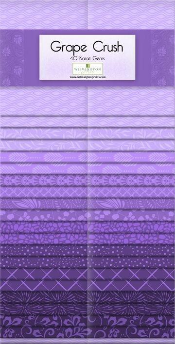 Wilmington - Grape Crush - 40 Karat Gems Strip Set