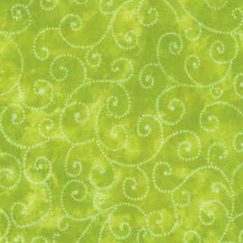 Moda Marble Swirl - Lime