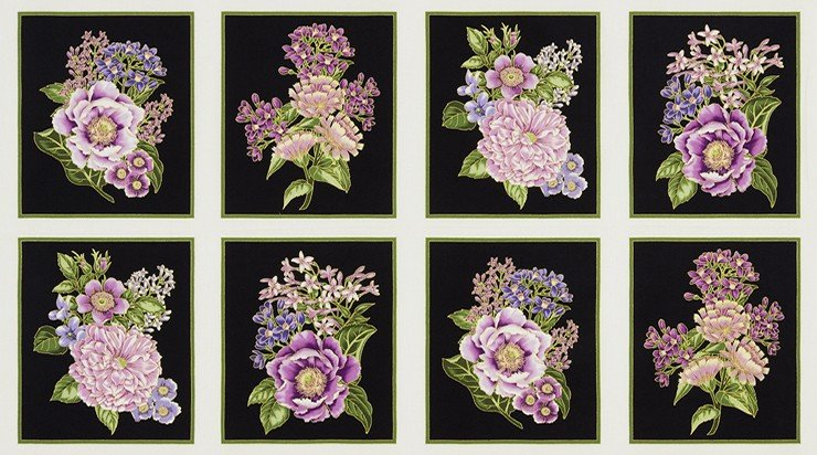 Robert Kaufman - Avery Hill Floral Panel