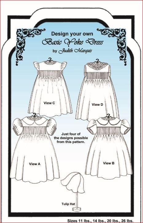 Judith Marquis - Basic Yoke Dress