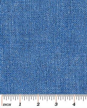 Benartex - Burlap Print - Blue