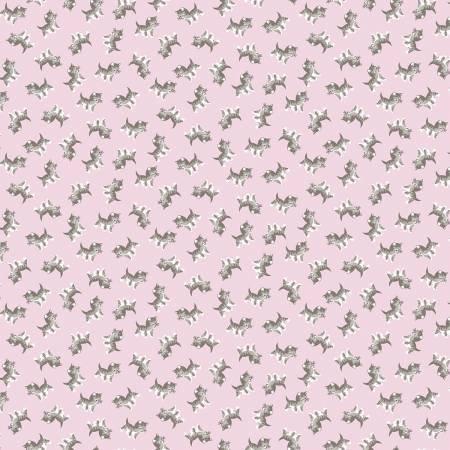 Riley Blake - Petite Kittens Pink