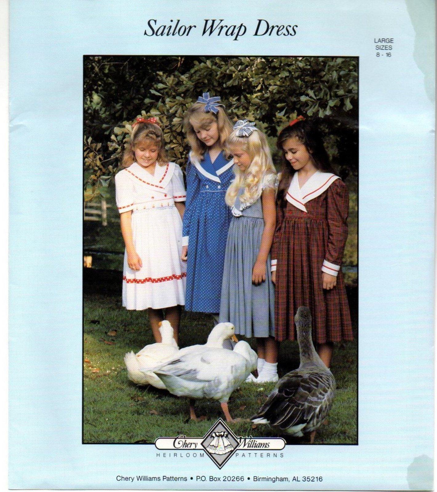 Chery Williams  - Sailor Wrap Dress