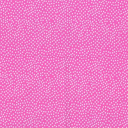 Michael Miller - Garden Pindot - Berry pink