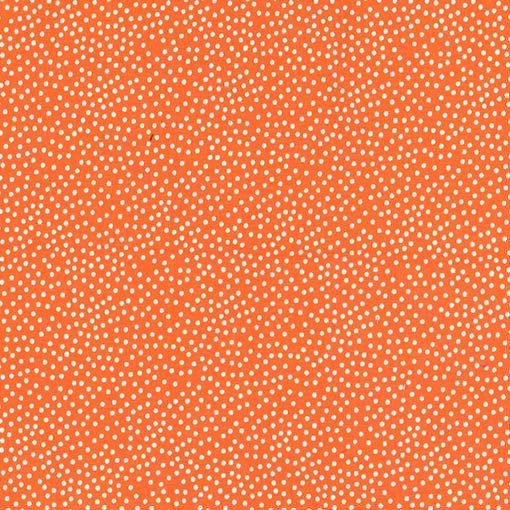 Michael Miller - Garden Pindot - Orange