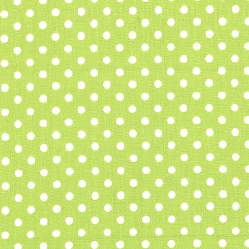Michael Miller - Dumb Dot  - Lime Green