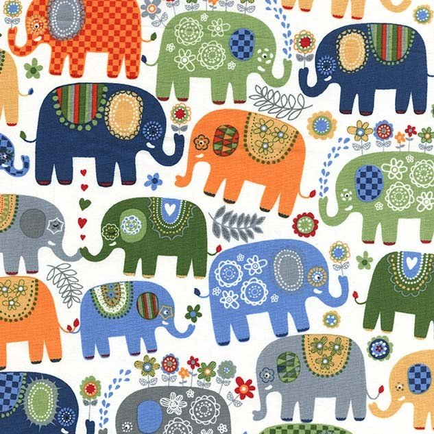 Michael Miller  - Happy Elephants