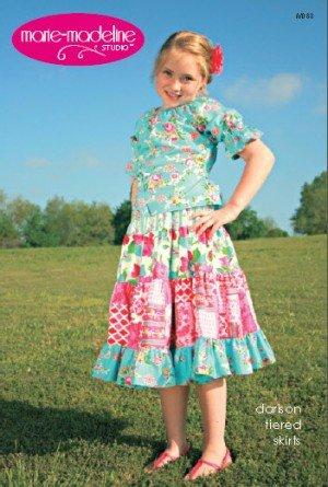 Marie Madeline Studio - Darison Tiered Skirts
