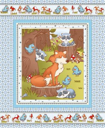 Fabri-Quilt - Mr. Fox and Friends