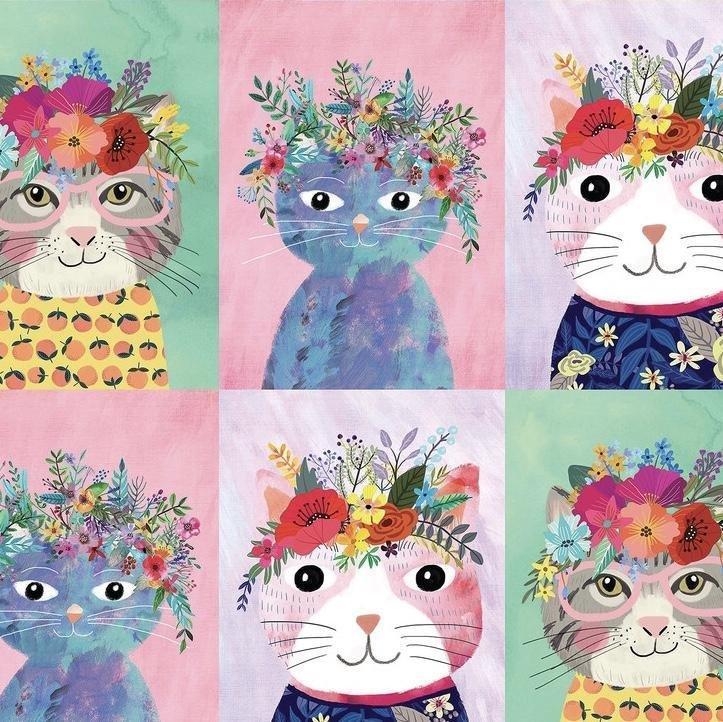 Blend - Floral Pets - Cats
