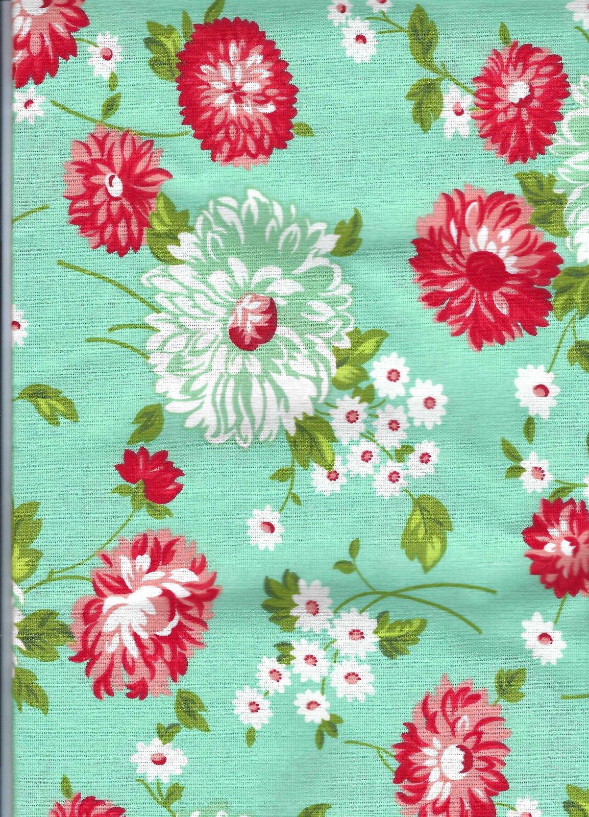 Toweling - 3 yards - Floral