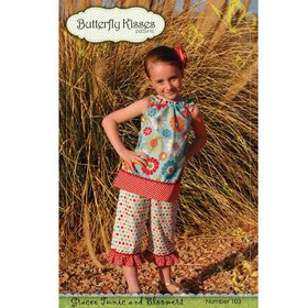 Butterfly Kisses Gracee Tunic and Bloomers pattern