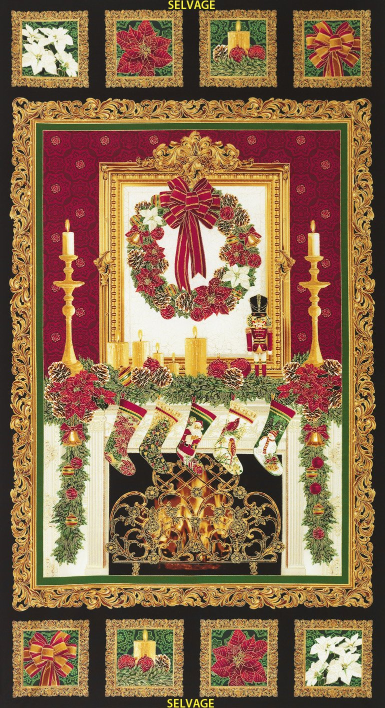 Timeless Treasures - Holiday Panel