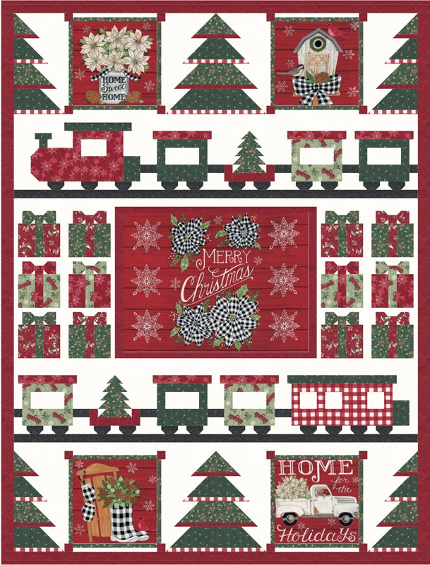Moda - Home Sweet Holidays Quilt Kit