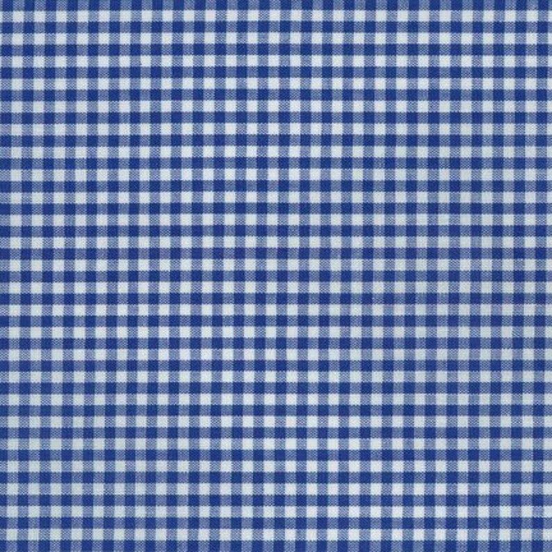 Spechler Vogel - 1/8  Check - Royal Blue