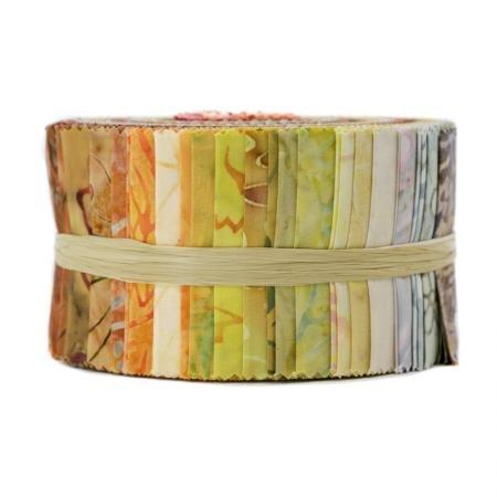 RJR - Jinny Beyers Malam Batiks Strips - Sunrise