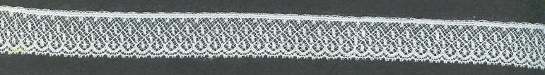 3/4 wide lace edging white or ivory