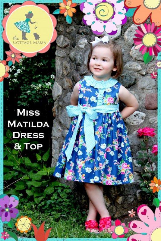 Cottage Mama - Miss Matilda Dress and Top