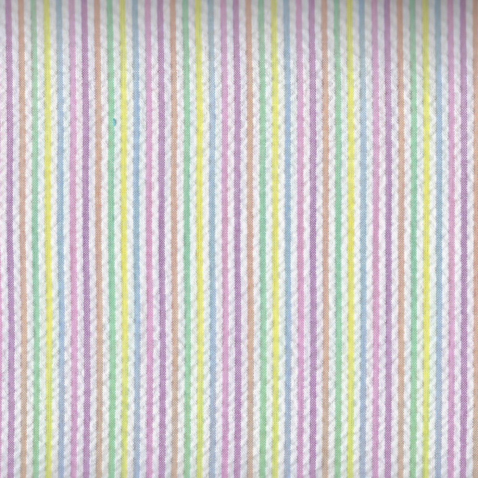 Spechler Vogel - Seersucker Pastel Multi-Stripe
