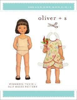 Oliver + S - Pinwheel Tunic & Slip Dress
