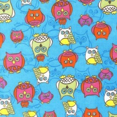 Robert Kaufman - Corduroy - Cool Cords Owls