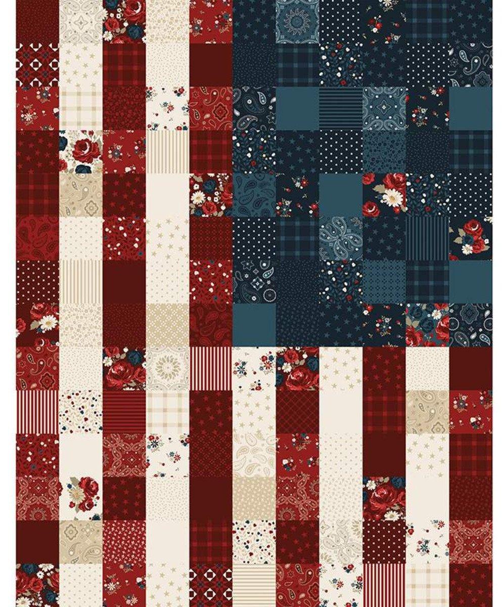 Riley Blake - American Legacy Flag Panel