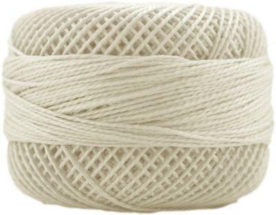Finca Perle Cotton Size 5 10 gram Ball - 3000 Ecru