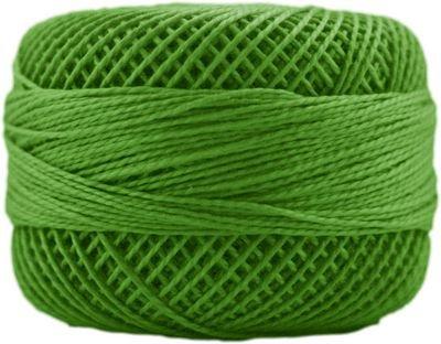 Finca Perle Cotton Size 5 10 gram Ball - 4643 Kelly Green