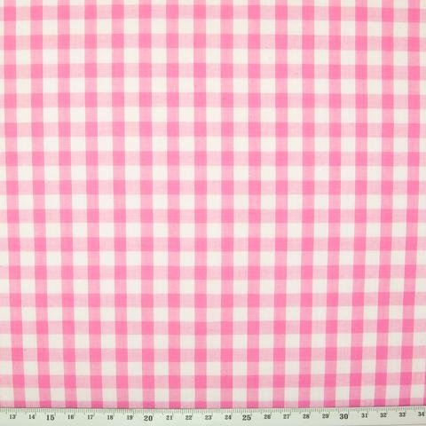Spechler Vogel - 1/4 in. gingham check - pink