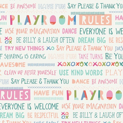 Art Gallery - Playroom Rules