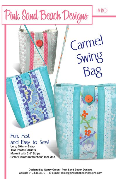 Pink Sands Beach Designs - Carmel Swing Bag