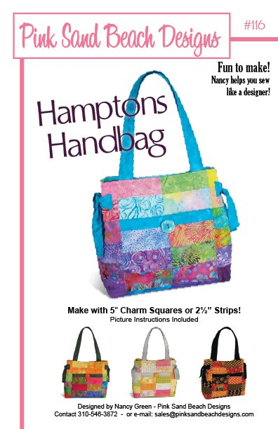 Pink Sands Beach Designs - Hamptons Handbag