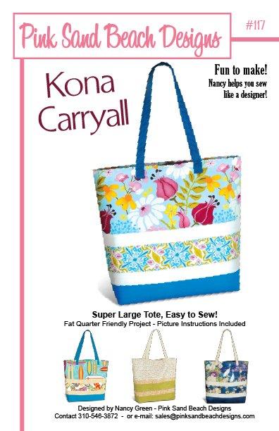 Pink Sands Beach Designs - Kona Carryall