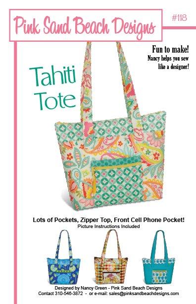 Pink Sands Beach Designs - Tahiti Tote