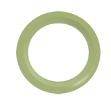 Snap Source Open Prong Ring Size 14 - apple green
