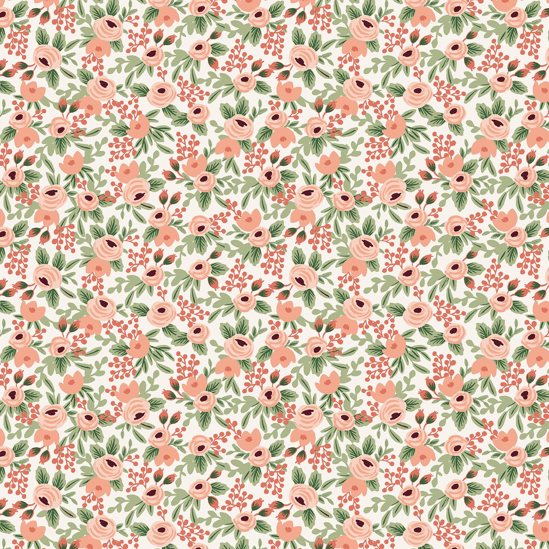 Cotton + Steele - Rifle Paper Co. - Garden Party Rosa