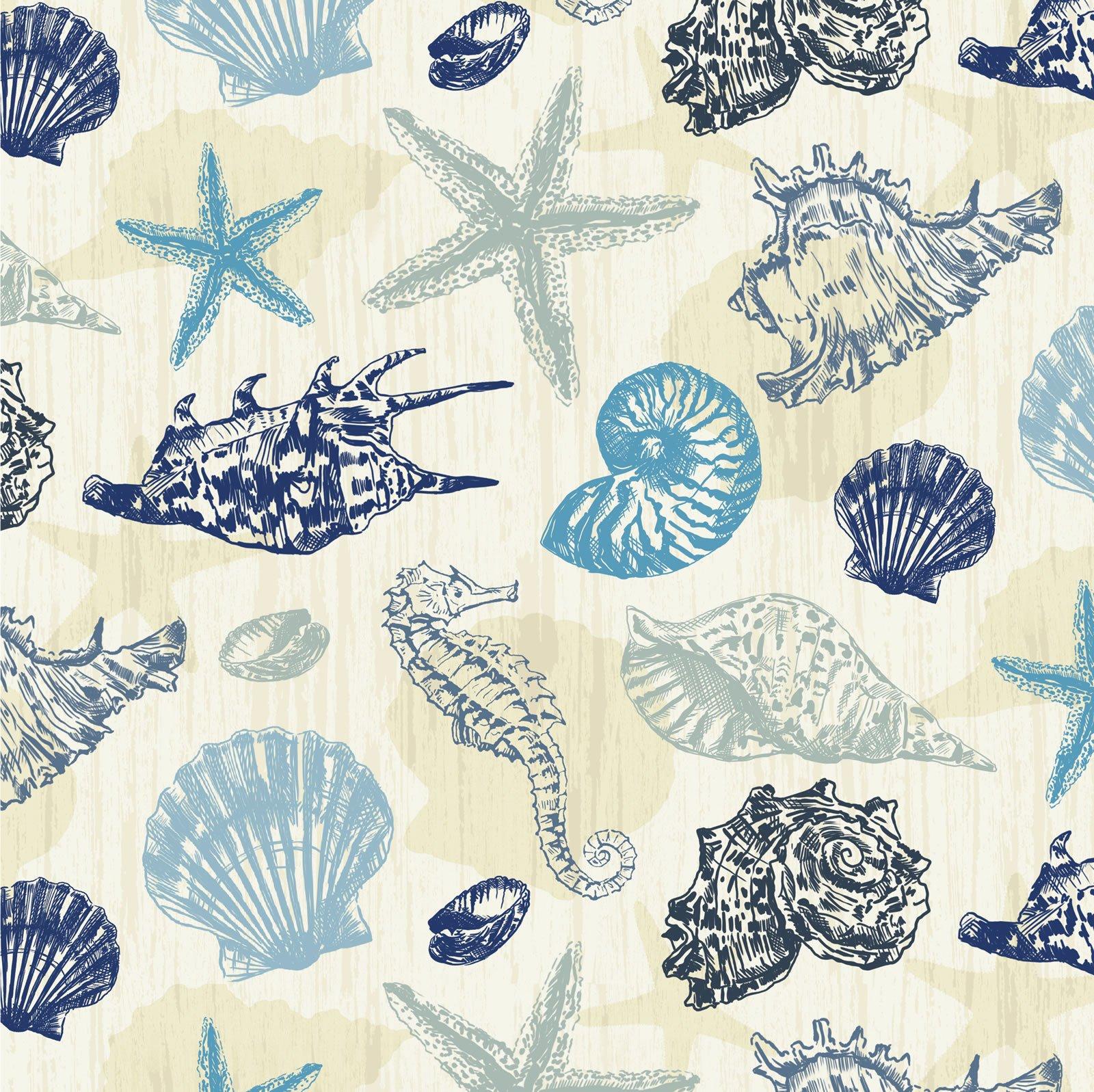 Oasis - Ahoy Seahorse - Ecru