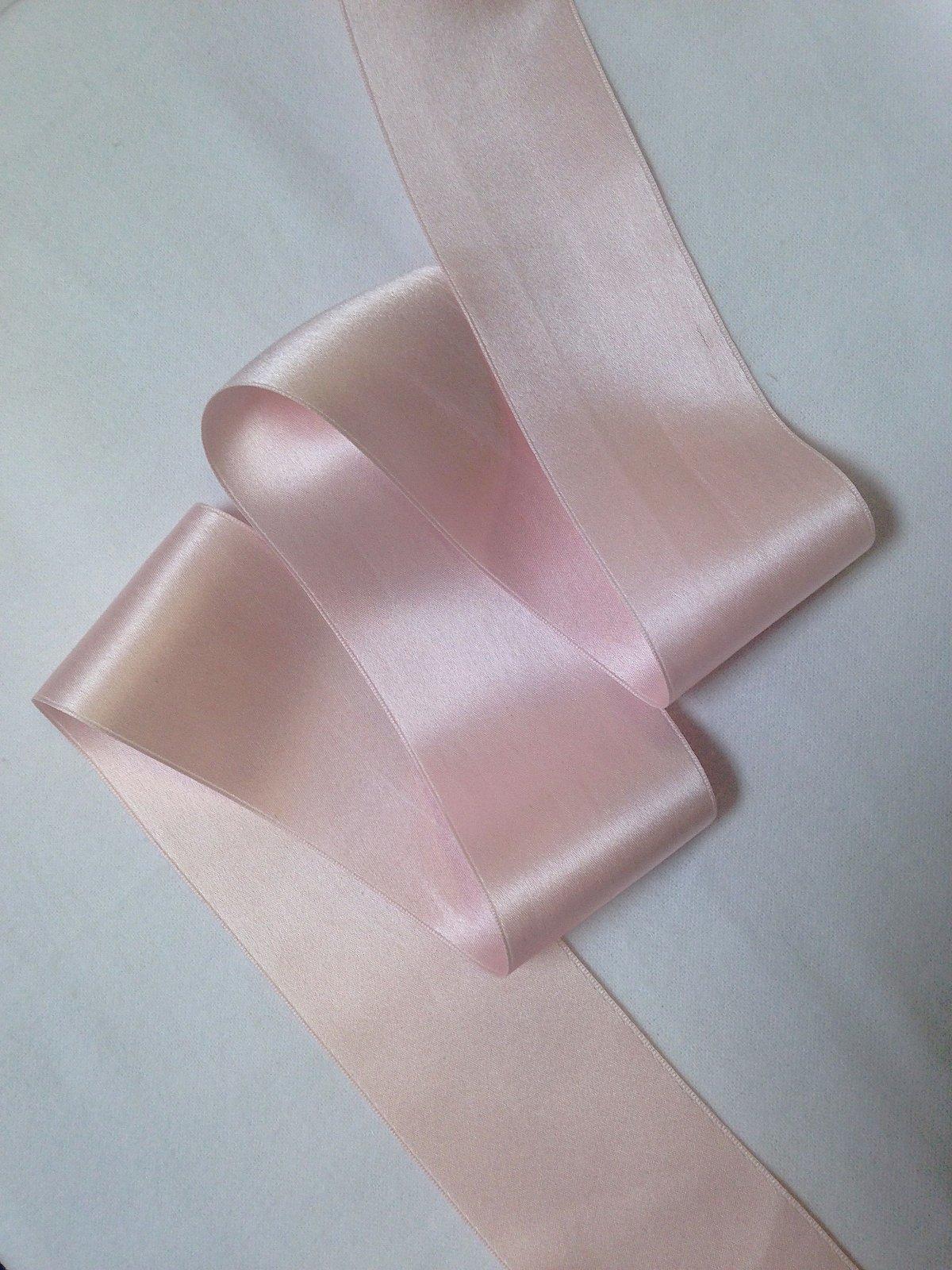 Silk Satin Ribbon - Light Pink
