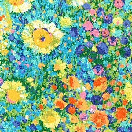 Robert Kaufman - Painterly Petals - Multi