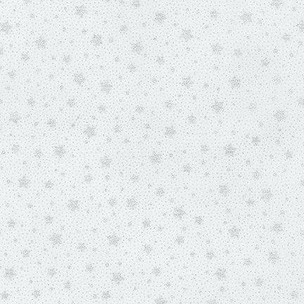 Robert Kaufman - Holiday Flourish 13 - Silver Stars