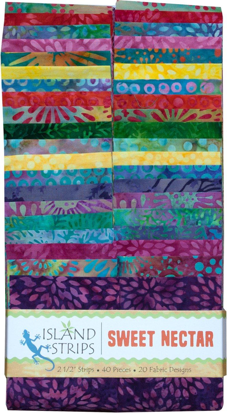 Island Batik - Sweet Nectar Strips