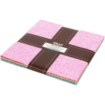 Robert Kaufman - Violet Craft Modern Classics - 10 in squares