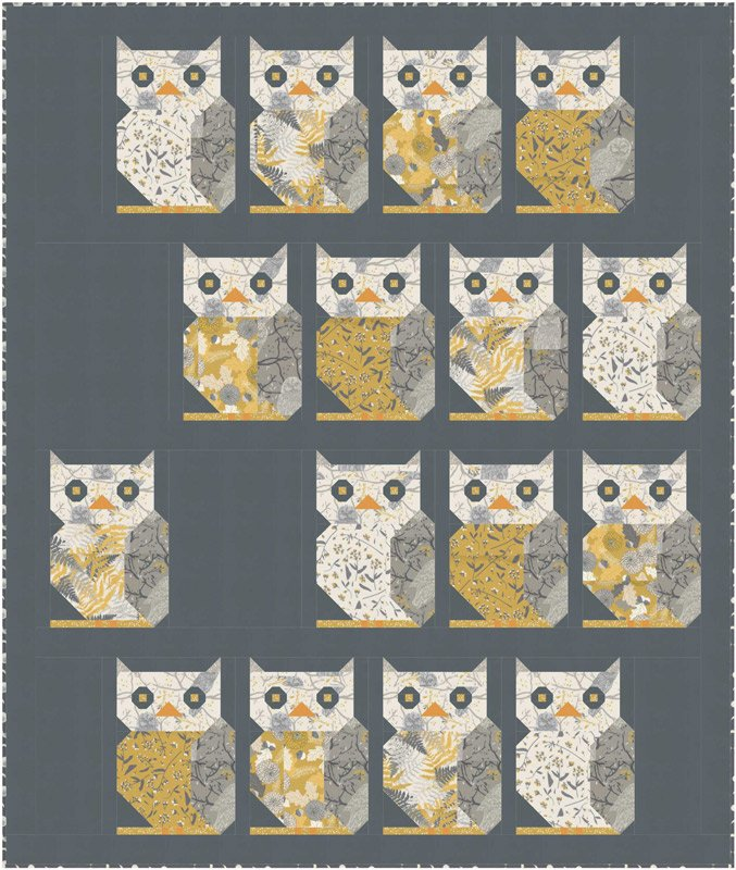 Moda - Through the Woods Quilt Kit - PREORDER