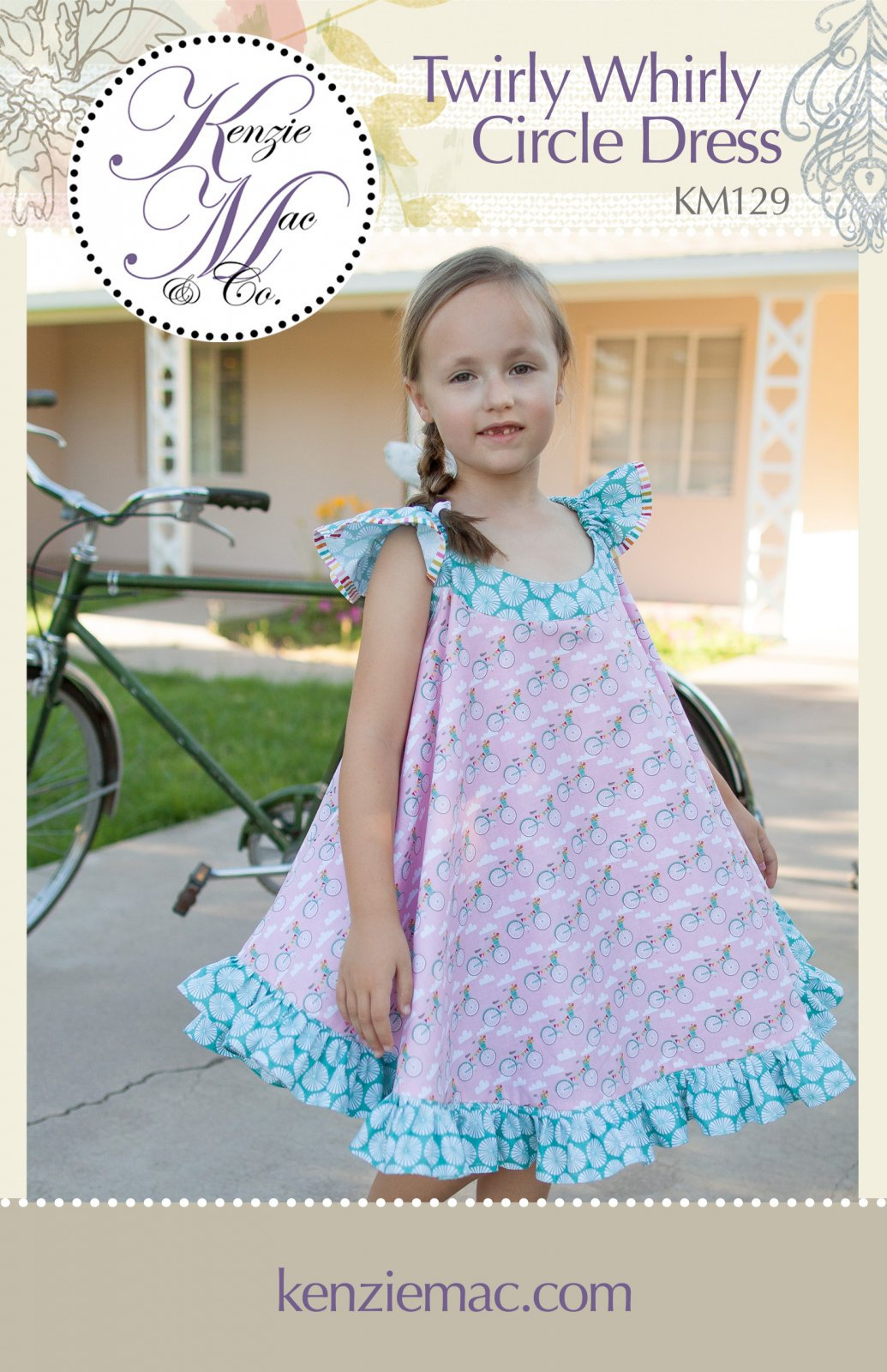 Kenzie Mac - Twirly Whirly Circle Dress