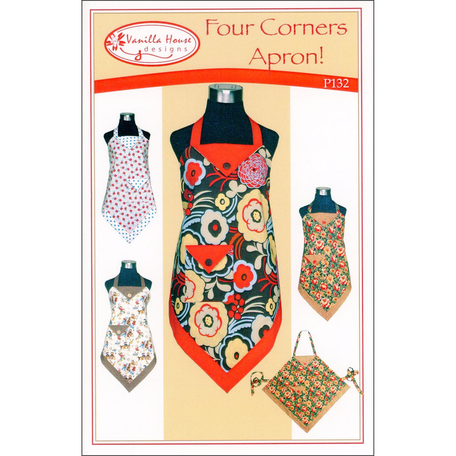 Four Corners Apron Pattern