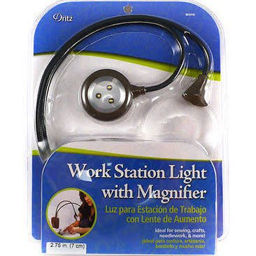 Work Station Light with Magnifier