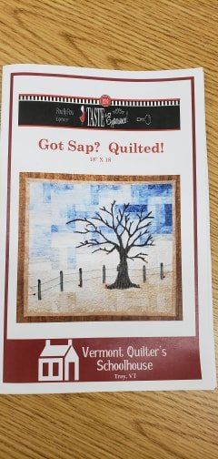 Got Sap? Quilted -  Pattern