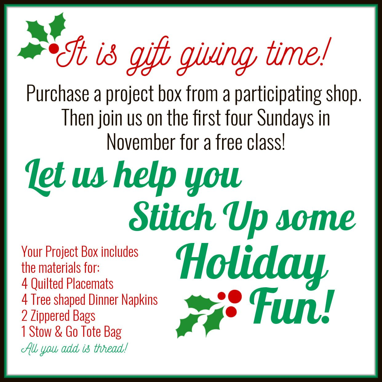 Holiday Fun Kits