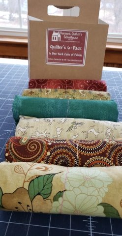 Quilter's 6 Pack Quilt Kit